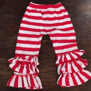 Other - Red and white stripped pants